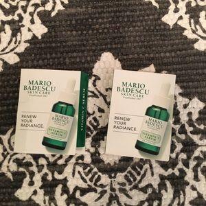 Mario Badesco Vitamin C samples